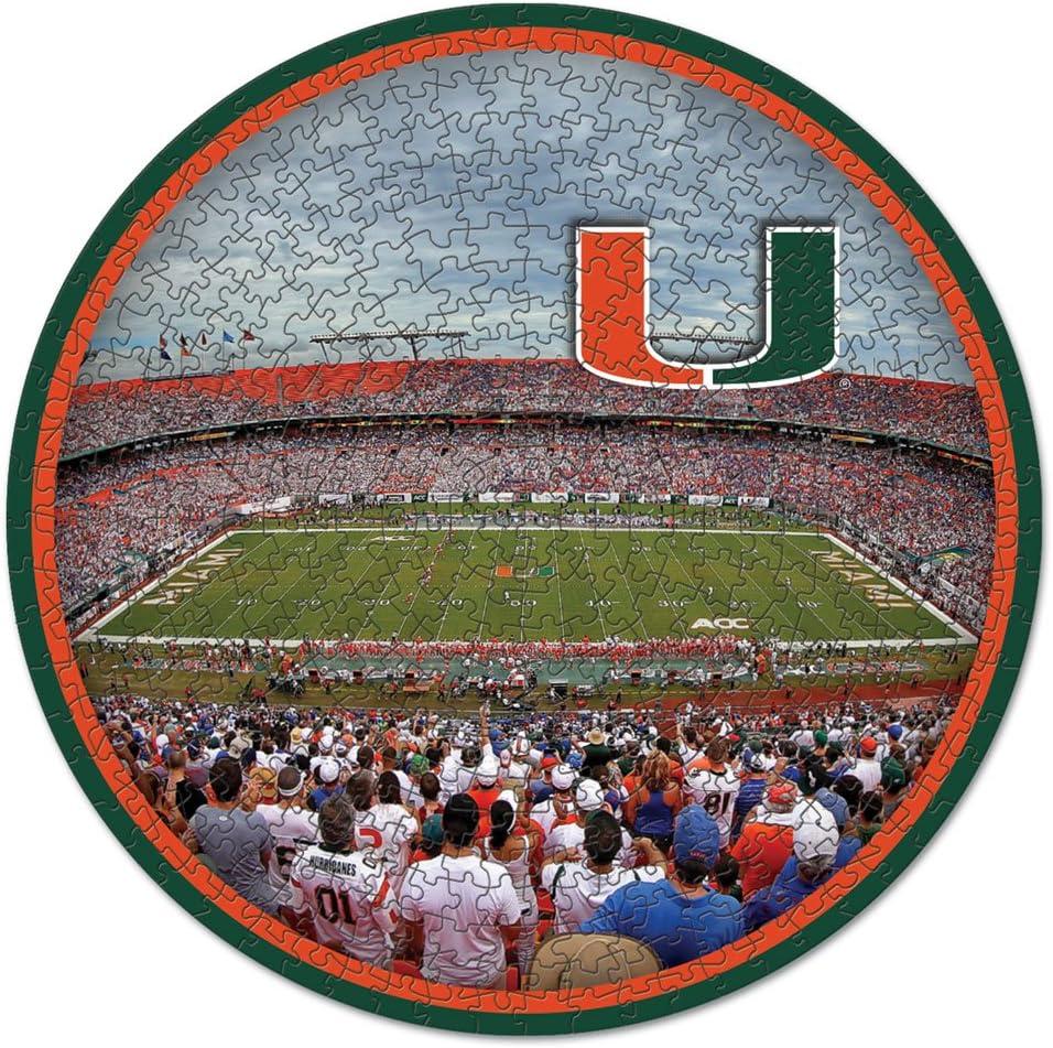 NCAA Miami Hurricanes Stadium Puzzle 500-Piece