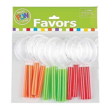 Produzione Giocattoli In Plastica.Lente D Ingrandimento Colori Assortiti Confezione Da 12 Taglia 4