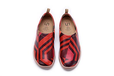 Amazon.com: uin Toledo de la mujer Colorful Casual Sneaker ...