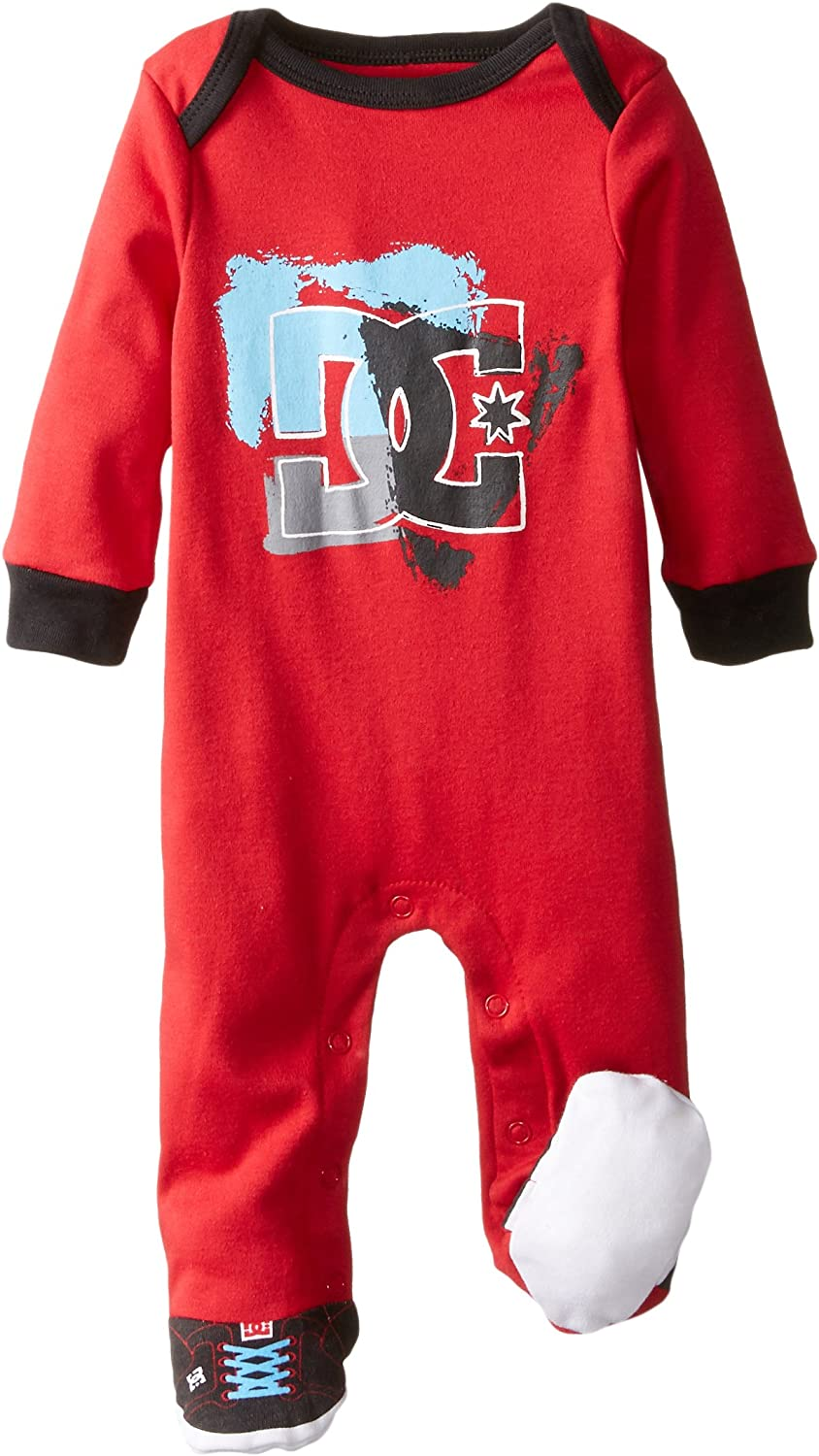 DC Shoes Co Baby-Boys Newborn Red