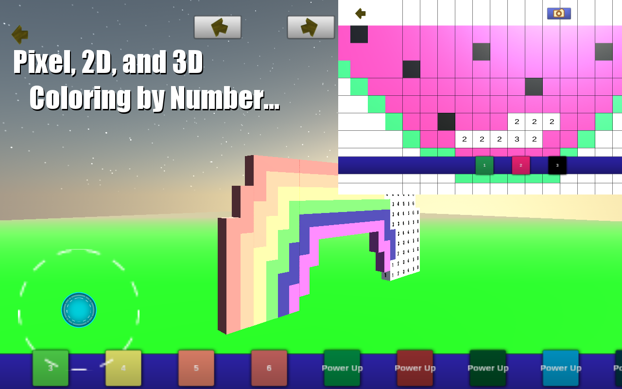 Amazon.com: Coloring by Numbers Deluxe - Pixel, 2D, 3D, and Voxel ...