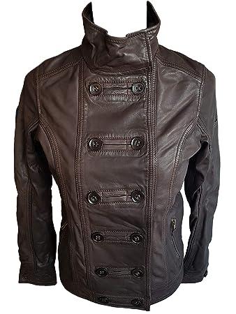 Timberland A0511 - Chaqueta de Piel para Mujer, marrón ...