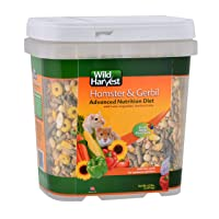 Wild Harvest Wh-83543 Wild Harvest Advanced Nutrition Diet For Hamsters Or Gerbils...