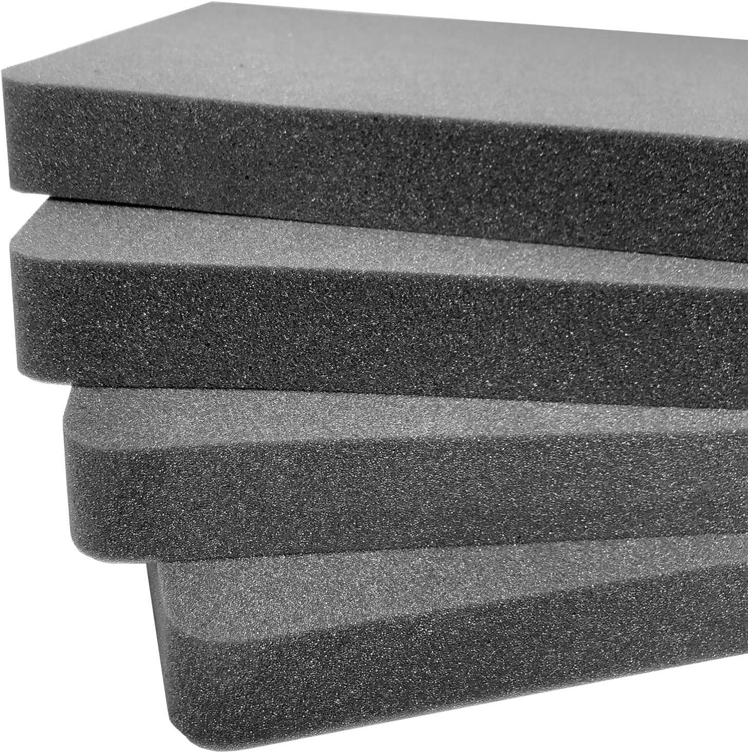2 Pieces Pelican Case Vault V770 Replacement Foam Inserts Set