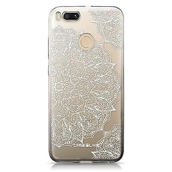 CASEiLIKE® Funda Mi A1, Carcasa Xiaomi Mi A1, Arte de la Mandala 2091, TPU Gel Silicone Protectora Cover