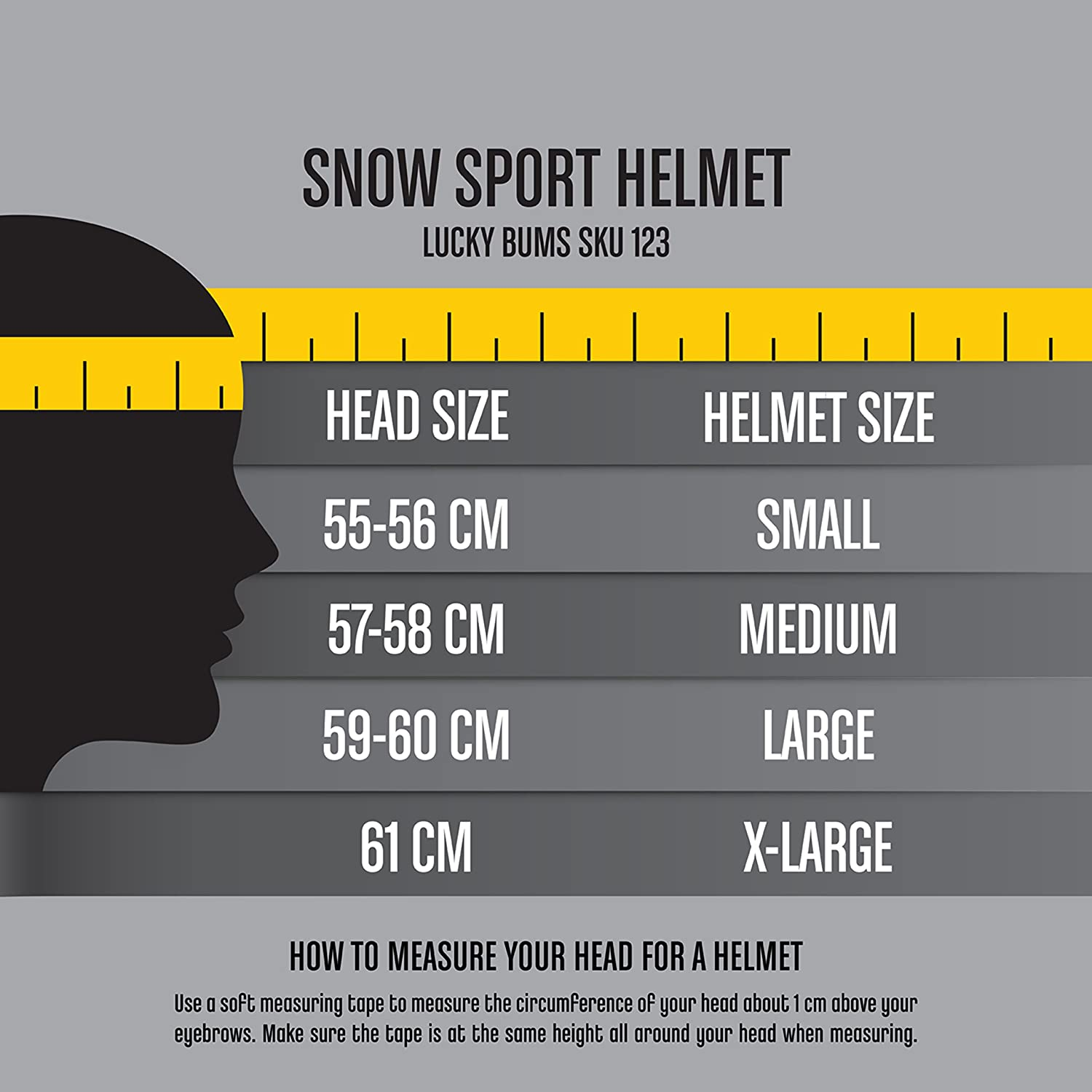 Amazon lucky bums snow sport helmet sports outdoors nvjuhfo Images