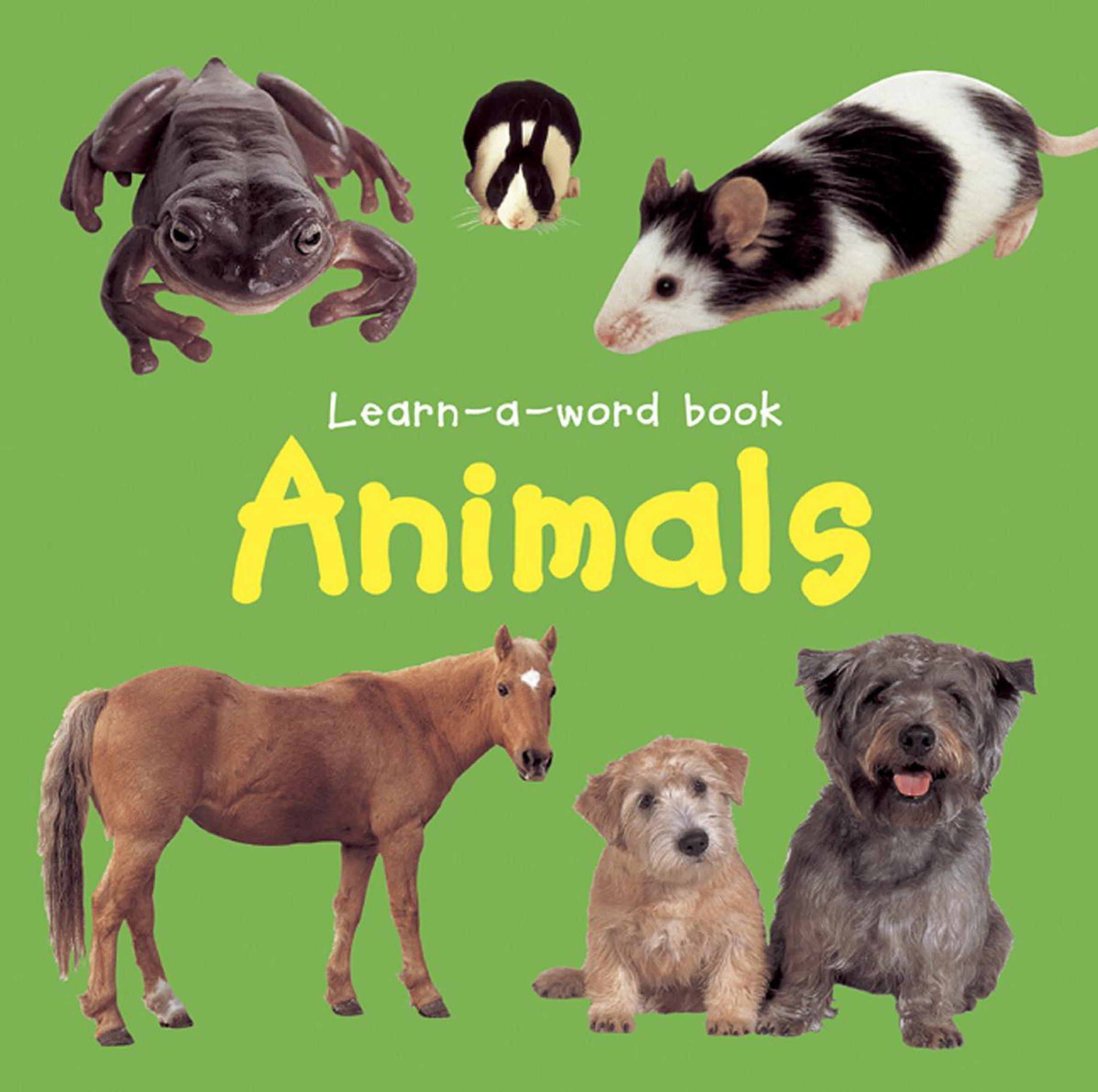 Read Online Learn-A-Word Book: Animals pdf epub