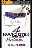 Vier Hochzeiten und ein Rockstar (Just married 4) (German Edition)