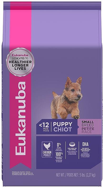 Eukanuba Puppy Food >> Amazon Com Eukanuba Puppy Small Breed Puppy Food 5 Pounds Pet