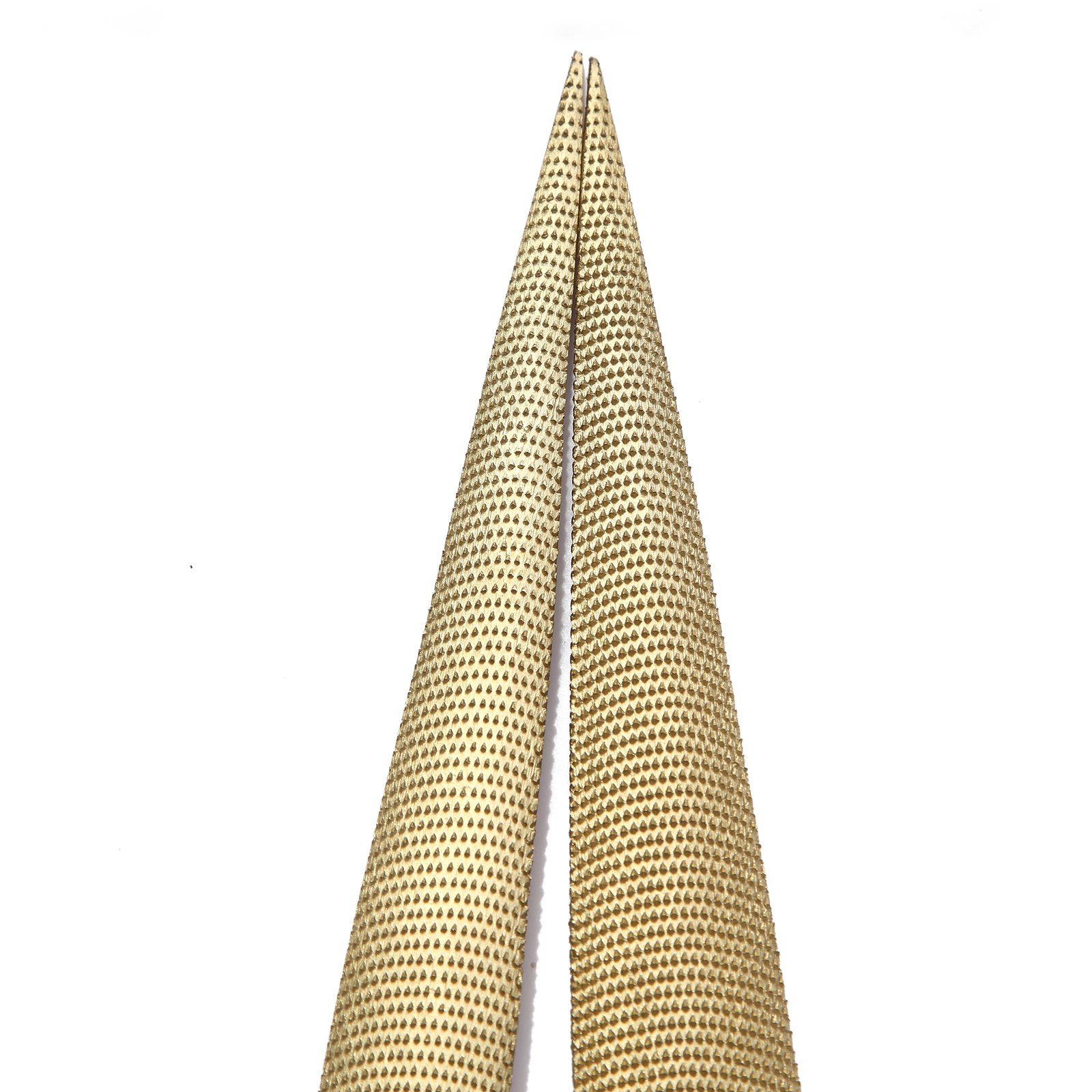 NKTM 8'' and 10'' Golden Tapered Wood Rasp Bastard File with Rubber Handle in Gift Bag for Carving 2 Pack by NKTM (Image #9)