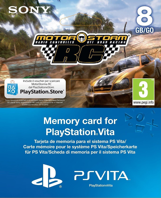 Sony MotorStorm: RC, PS Vita voucher + 8GB PlayStation Vita ...