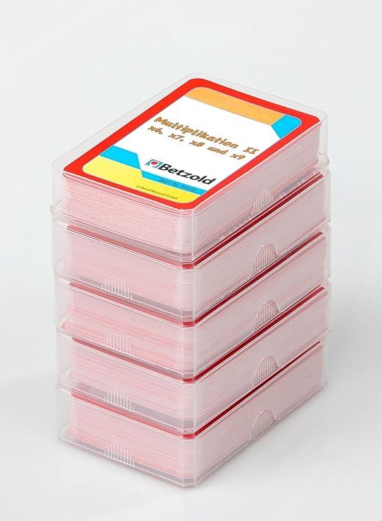 Betzold Rechen-Spiel Magischer Zylinder mit 10 Karten-Sets zum ...