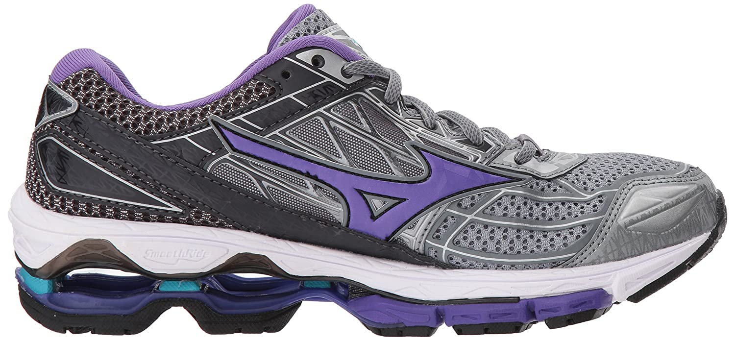 Mizuno Running Shoes Women's Wave Creation 19 Shoes Running B0722NR18W 8 B(M) US|Monument/Passion Flower 7c61ae