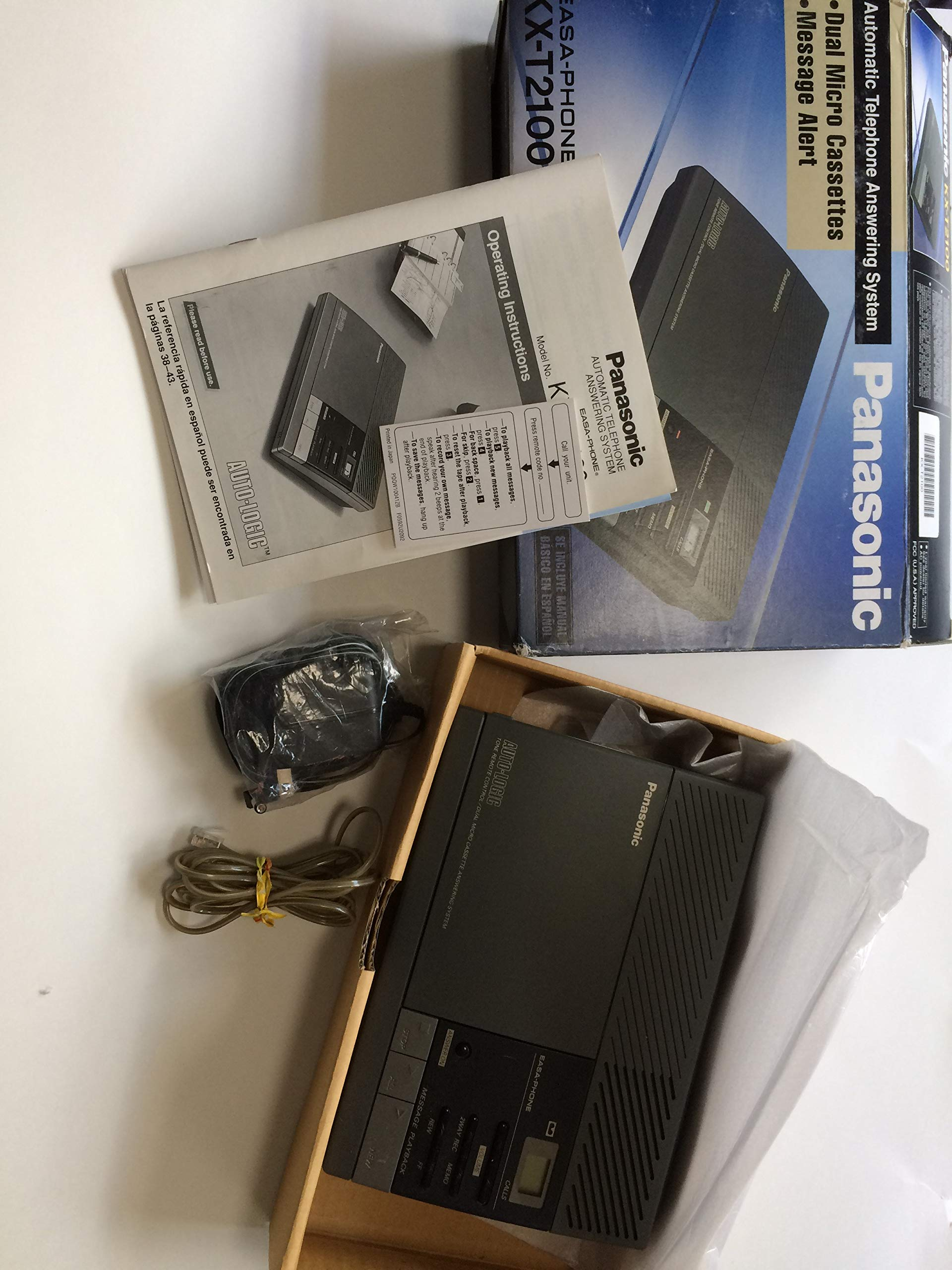 Panasonic Easa-phone KX-T2100 Automatic Telephone Answering System by Easa-Phone