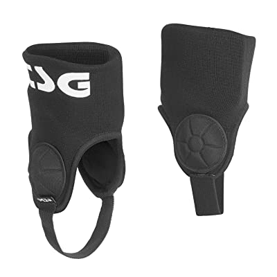TSG - Single Ankle-Guard Cam Pads for Bicycle (Black, S/M): Toys & Games