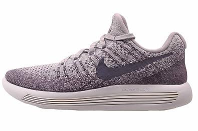 Nike Womens Lunarepic Low Flyknit 2 Running Shoe (7.5 Provence Purple/Pure Platinum/Night Purple/Dark Raisin)