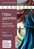 Fêtes galantes et Romances sans paroles