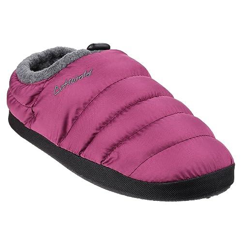 Cotswold Camping - Zapatillas de Estar por casa para Mujer: Amazon.es: Zapatos y complementos