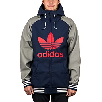 adidas Greeley Soft Shell Snow Jacket Collegiate Navy Heather Grey   Amazon.co.uk  Sports   Outdoors b39879dfe9