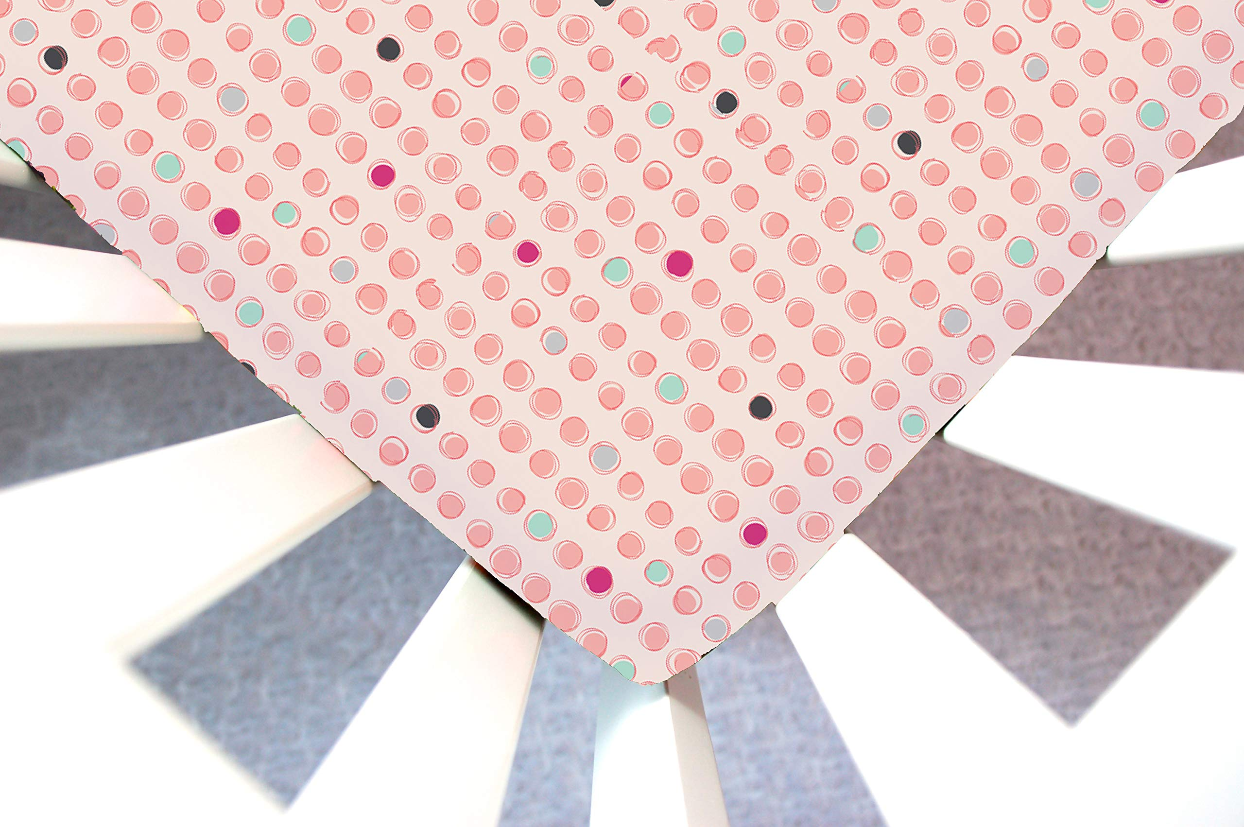 Little Moose by Liza Handmade Sheet Made to Fit a Halo Bassinet Dots Burst Melon (Polka Dot) This Sheet was Not Created or Sold by Halo. by Little Moose By Liza LLC