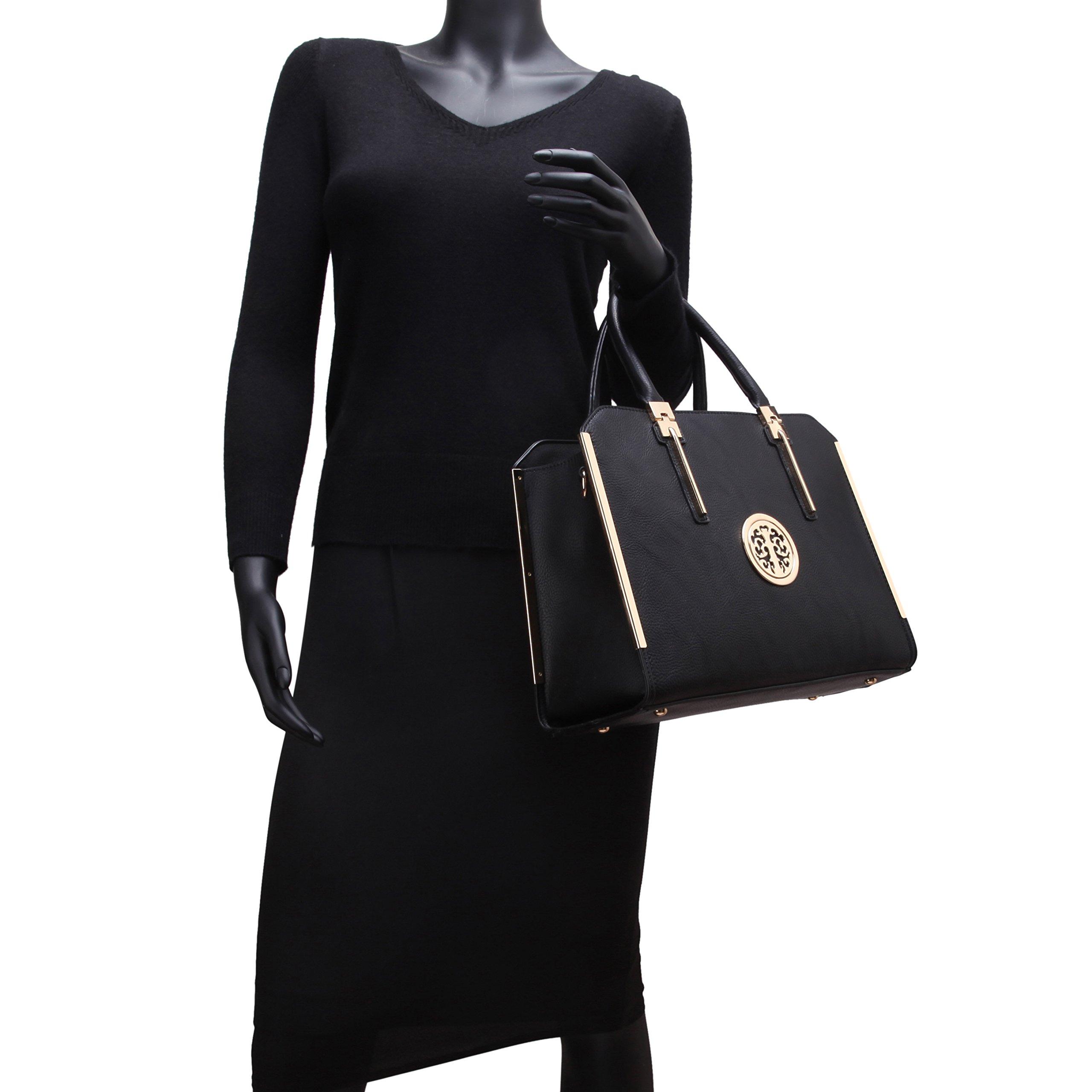 Womens Handbags Designer Satchel Tote Bag Shoulder Bags Ladies Purses for Women Matching Wallet