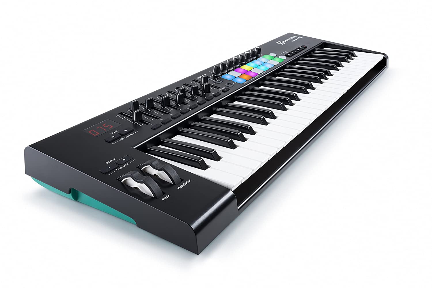 Novation Launchkey 25 USB Keyboard Controller for Ableton Live, 25-Note MK2 Version AMS-LAUNCHKEY-25-MK2