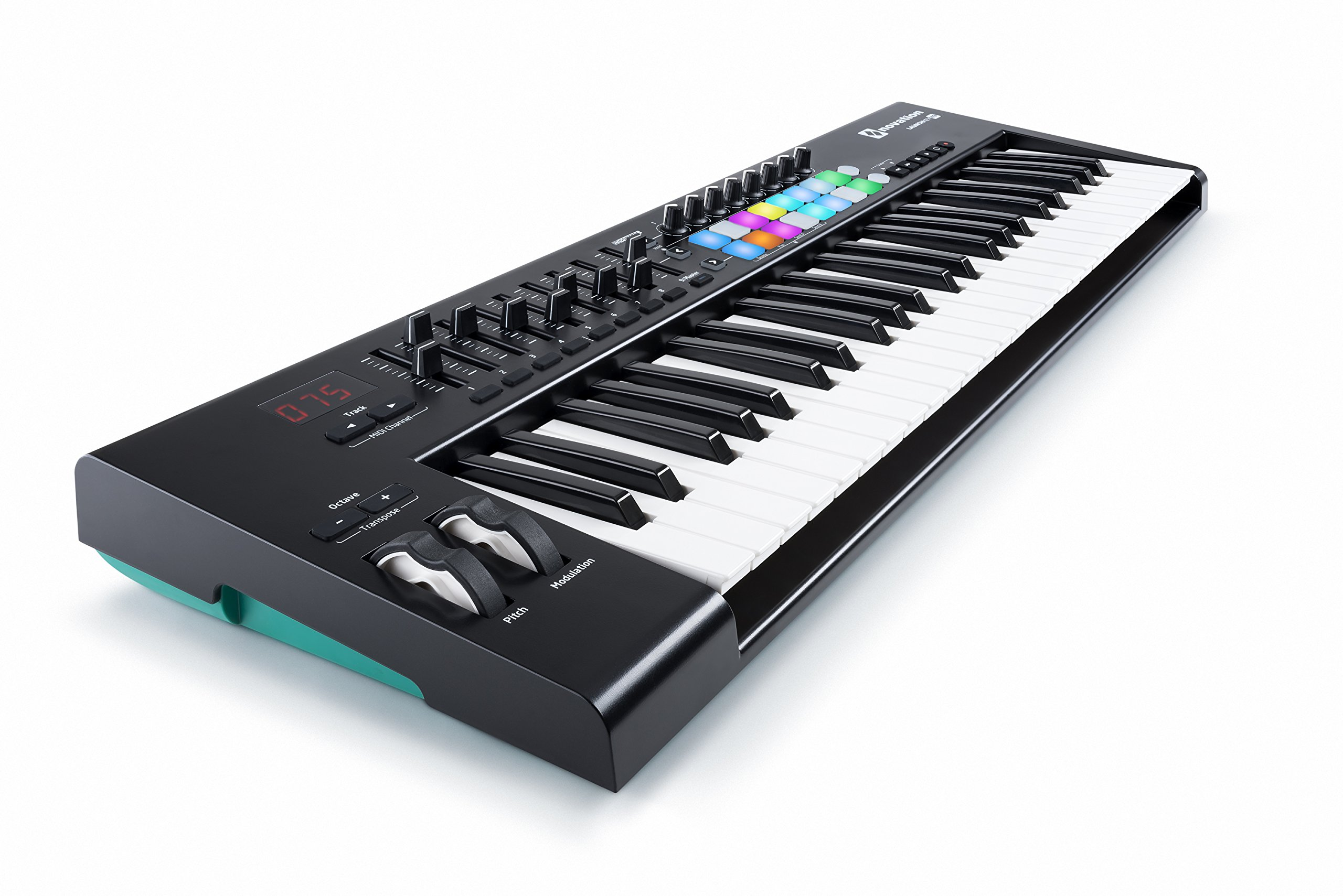 Novation Launchkey 49 USB Keyboard Controller for Ableton Live, 49-Note MK2 Version by Novation