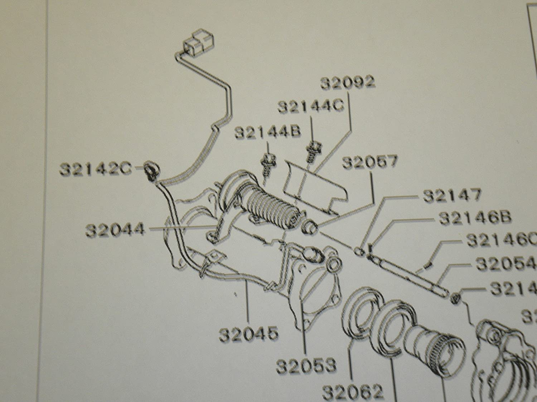 Genuine Mitsubishi Freewheel Clutch Switch Gasket 97 Montero Sport Engine Diagram Mr953809 Mf660065 1997 1998 1999 2000 2001 2002 2003 2004 Automotive
