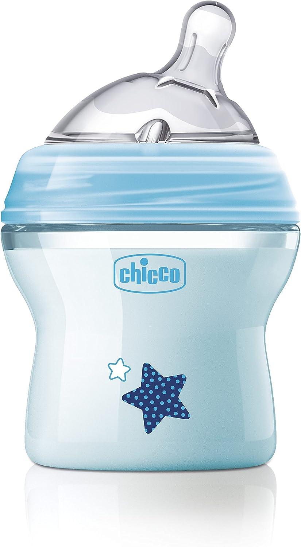 زجاجة رضاعة طبيعية من شيكو بسعة 150 مل – ازرق