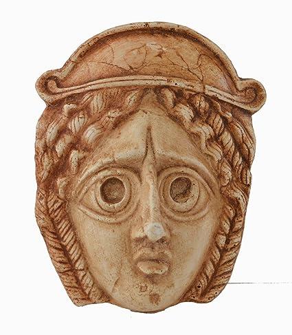 Griego antiguo cine teatro máscara de tragedia Mini