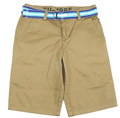 Embroidered Cotton Twill Shorts - Sales Up to -50% Tommy Hilfiger OvmLf0MKP