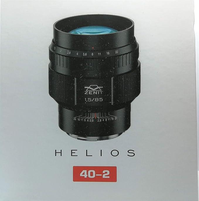 Zenit MC-Helios #40-2 - Lente de 85 mm f/1,5 en Montura Canon ...