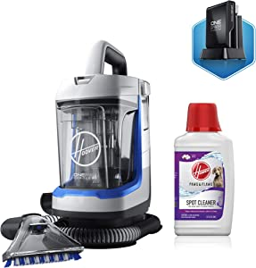 Hoover ONEPWR Spotless GO Cordless Carpet and Upholstery Cleaner with Paws and Claws Cleaning Solution (32oz), BH12001, AH30940