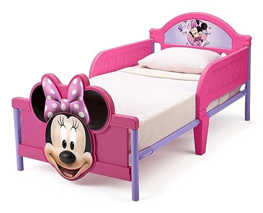 Scrivania In Legno Minnie Mouse : Opinioni per delta lettino in legno per bambini rosso minnie