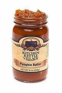 Pumpkin Butter, Kitchen Kettle Village (Amish Made), 9 Ounce Jars (Pack of 2)