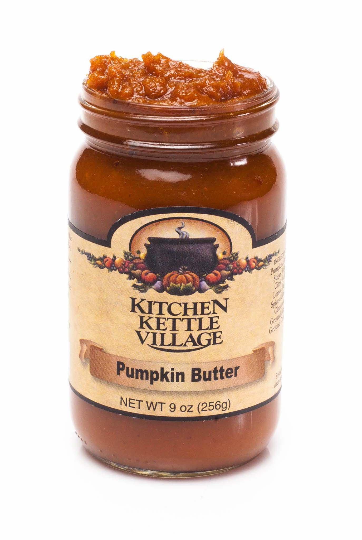 Kitchen Kettle Village Pumpkin Butter, (Amish Made), 9 Ounce Jars (Pack of 2)