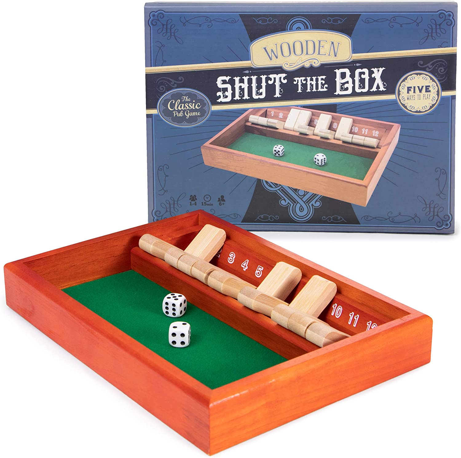 Shut the box game betting timecast betting odds