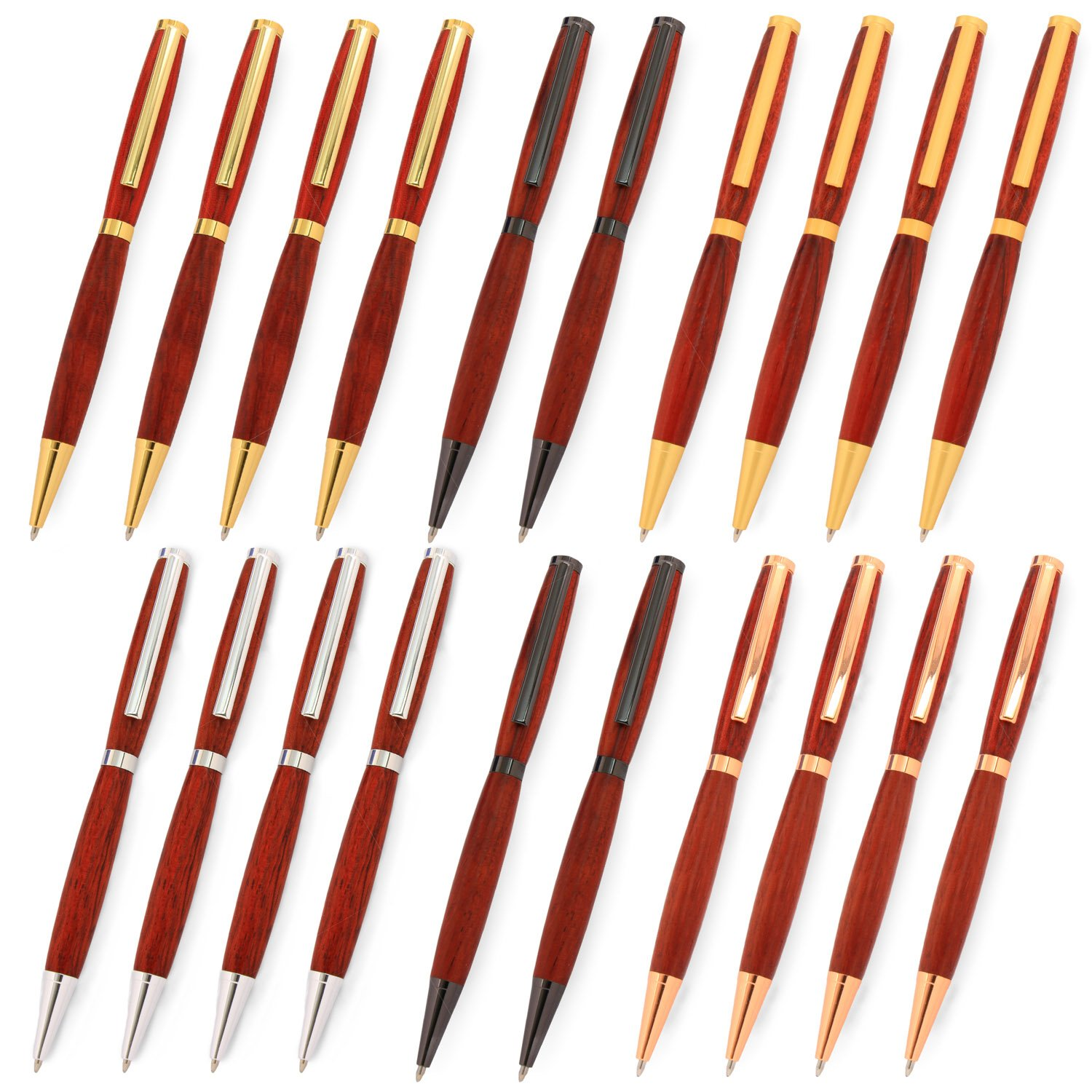 Legacy Woodturning, Slimline Pen Kit, Many Finishes, Multi-Packs  by Legacy Woodturning