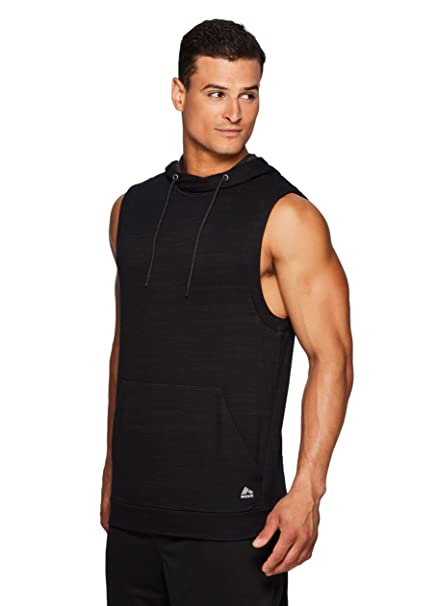 7c58a1e368bf3c Amazon.com  RBX Active Men s Sleeveless Pullover Hoodie  Clothing
