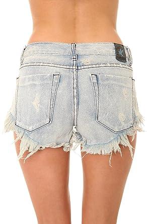 c289fd6ae1 Amazon.com: One Teaspoon Women's Bonitas Shorts: Clothing