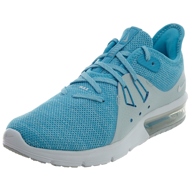 A buon mercato Nike Donne Air Max Sequent 3 Scarpe da corsa Blu Fury/Bianco glacier Blu