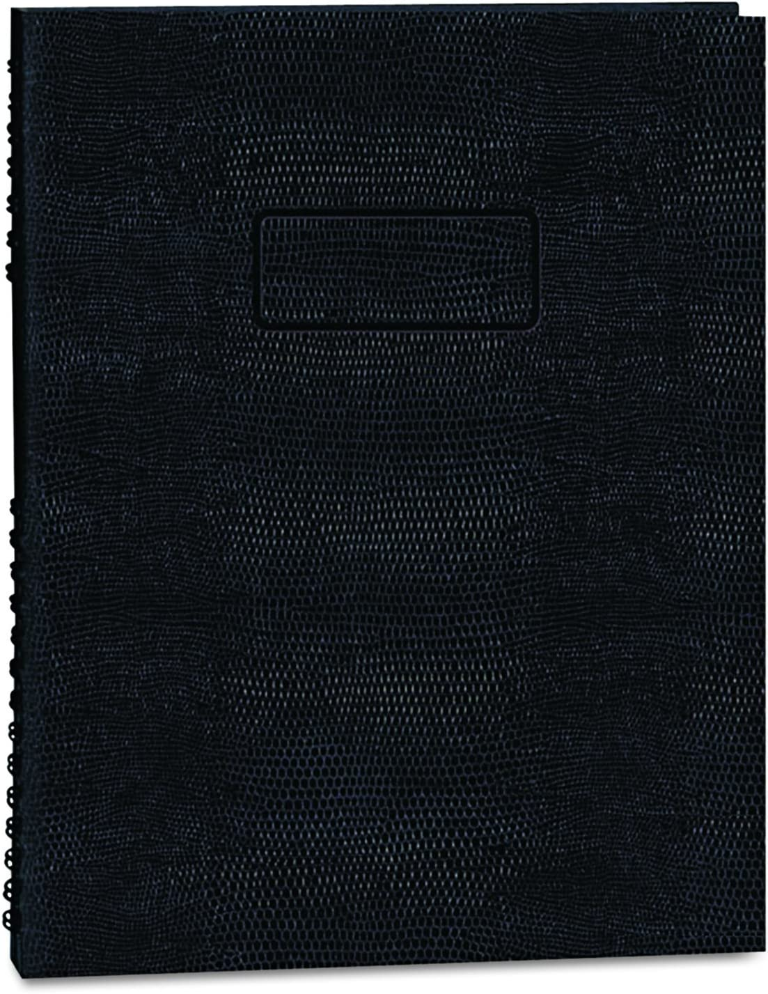 Blueline EcoLogix 100% Recycled NotePro Notebook, Black, 11 x 8.5 inches, 200 Pages (A10200E.BLK)