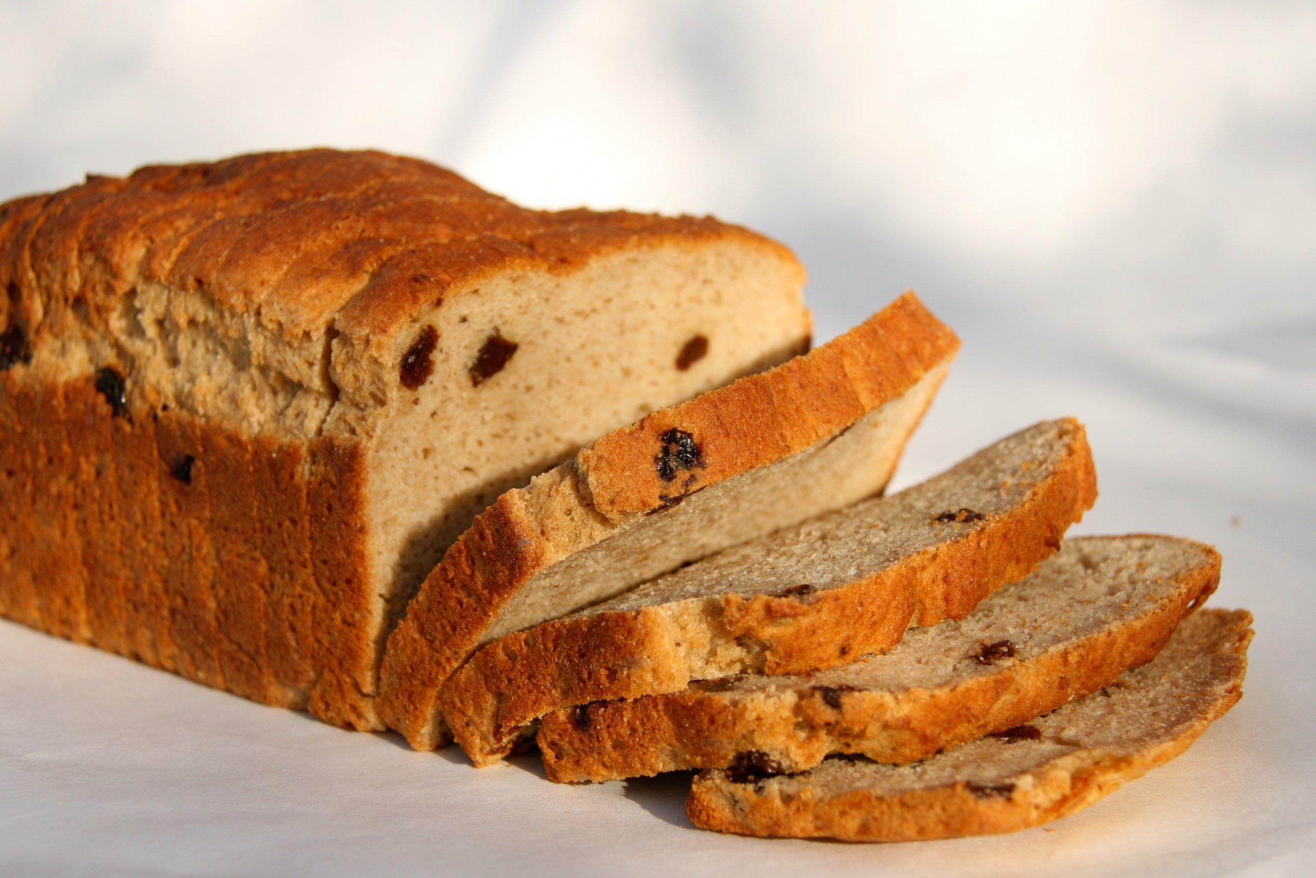 New Grains Gluten Free Cinnamon Raisin Bread, 32 oz Loaf