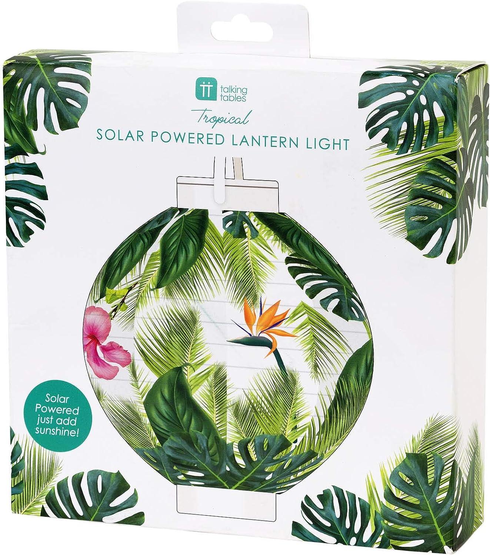 Verde Plastica Talking Tables FST6-GARLAND-PALM Tropical Fiesta Palm Garland 1.5