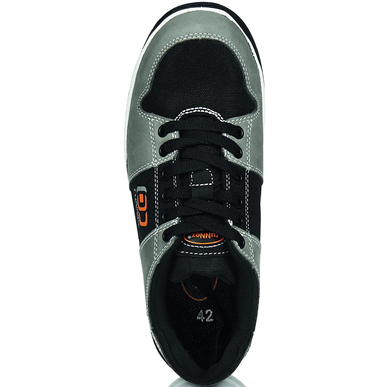 RuNNex 5240–41 Sicherheit Schuhe,  Sportstar, DCF-S2, DCF-S2, DCF-S2, Größe  41, Grau Schwarz ca282d