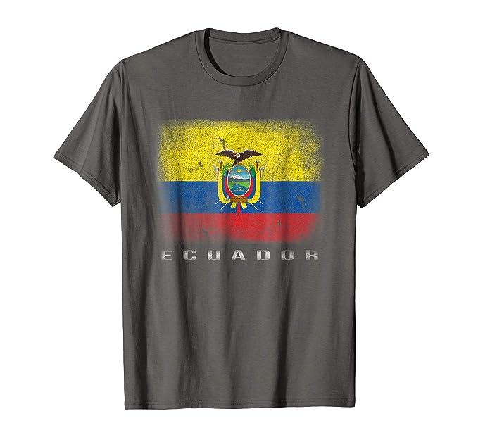 Mens Ecuador T-shirt Ecuadorian Flag Soccer Futbol Fan Jersey 2XL Asphalt