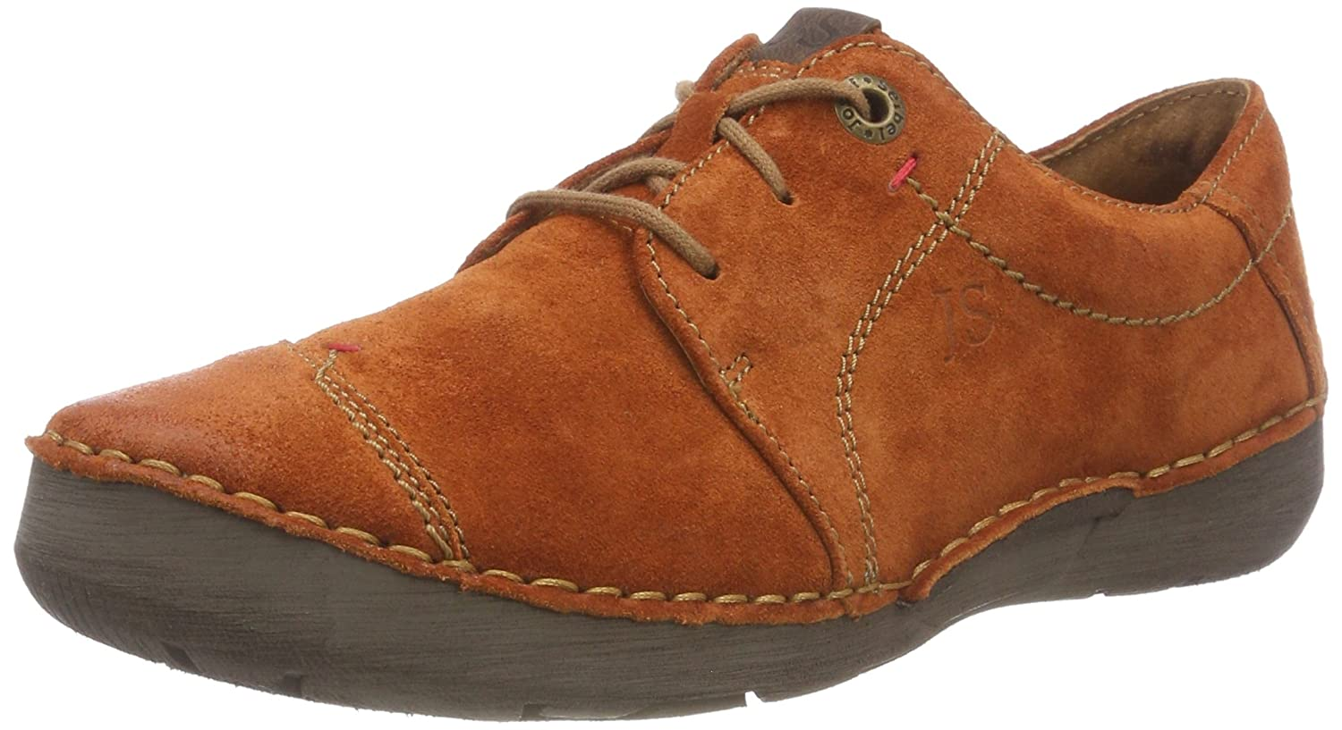 Orange (Orange 840) Josef Seibel Damen Fergey 20 Brogues