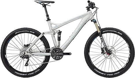 Ghost - Bicicleta de montaña de doble suspensión, talla 44 cm ...