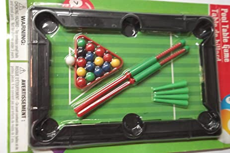 Amazoncom Travel Pool Table Game Kitchen Dining - Travel pool table