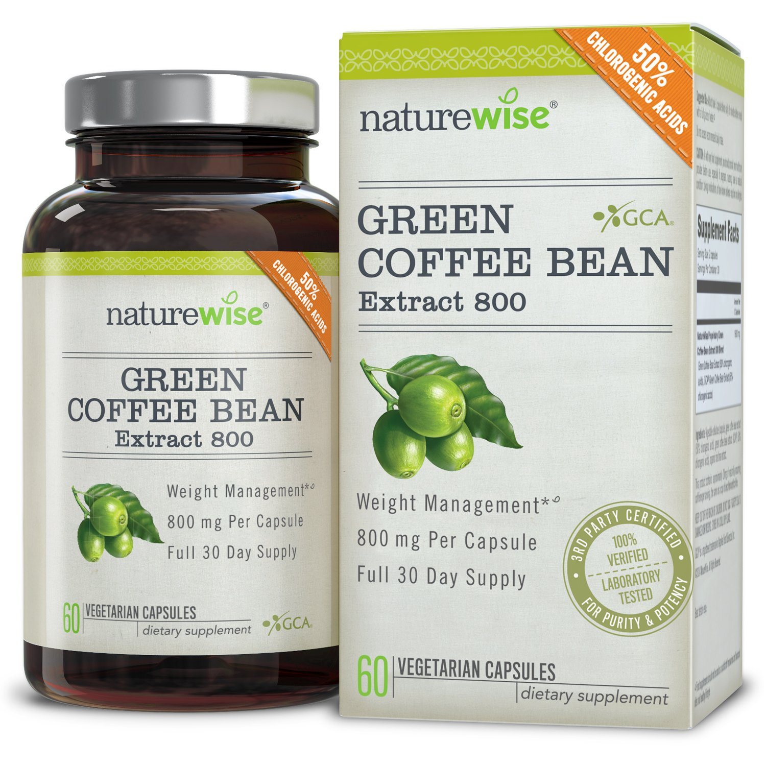 green coffee bean extract taken with food